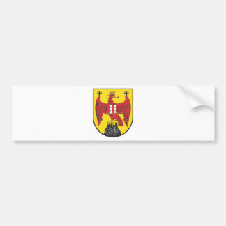 Coat of arms castle country Austria Bumper Sticker
