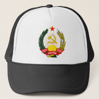Coat of arms Estonia Official Heraldry symbol Trucker Hat