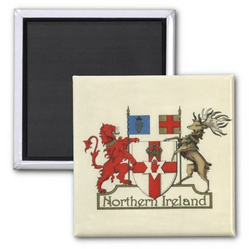 Coat-Of-Arms for Northern Ireland Fridge Magnets