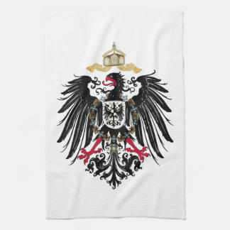 Coat of arms German Reich of 1889 realm eagles Kitchen Towels