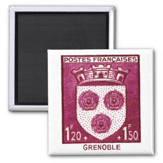 Coat of Arms, Grenoble France Fridge Magnets