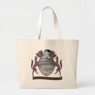 coat of arms jumbo tote bag