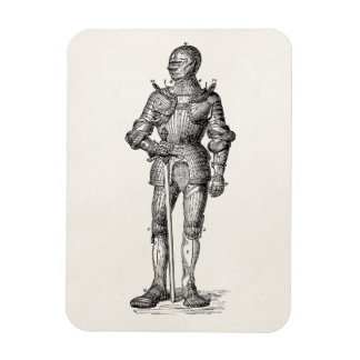 Coat of Arms Knight Shining Armor Sword Medieval Magnet