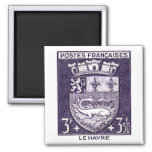 Coat of Arms, La Havre France Fridge Magnets