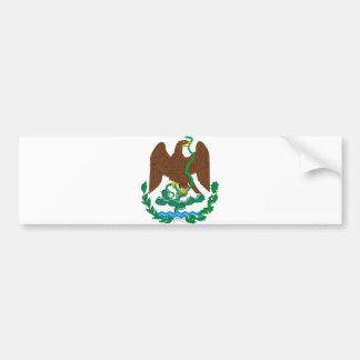 Coat of Arms Mexico Official Heraldry Symbol Logo Bumper Stickers