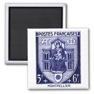 Coat of Arms Montpellier France Refrigerator Magnets