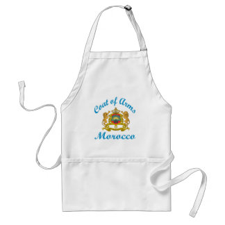 Coat Of Arms Morocco. Aprons