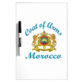 Coat Of Arms Morocco. Dry Erase Whiteboard
