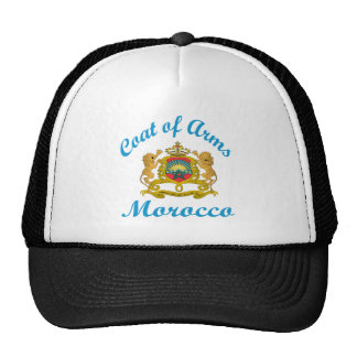Coat Of Arms Morocco. Mesh Hat