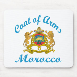 Coat Of Arms Morocco. Mouse Pad