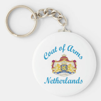 Coat Of Arms Netherlands Key Chains