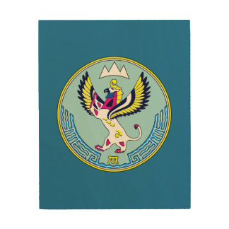 Coat of arms of Altai Wood Wall Decor