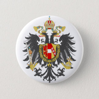 Coat of Arms of Austrian Empire 6 Cm Round Badge