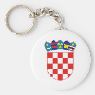 Coat of Arms of Croatia Key Ring