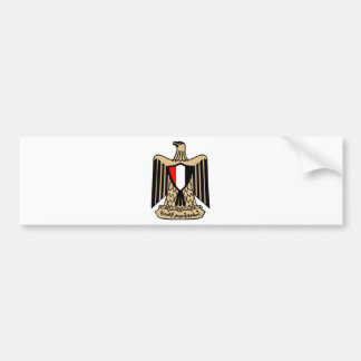 Coat of Arms of Egypt. Bumper Sticker