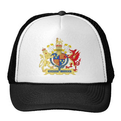 Coat of Arms of England Used By Queen Elizabeth I Trucker Hat