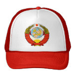 Coat of Arms of former Soviet Union Cap