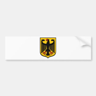 Coat of Arms of Germany. Bumper Sticker