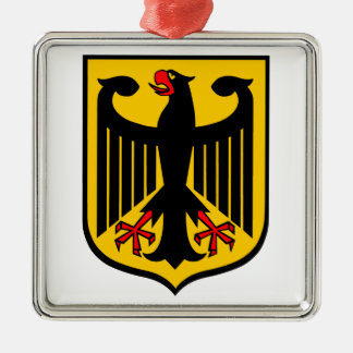 Coat of Arms of Germany. Christmas Ornament