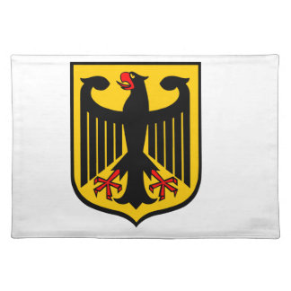 Coat of Arms of Germany. Placemat