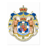 Coat Of Arms Of Greece Post Card