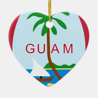 Coat_of_arms_of_Guam Christmas Ornament