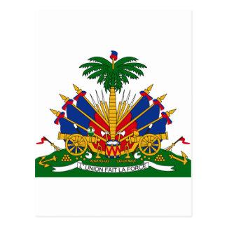 Coat of arms of Haiti Postcard