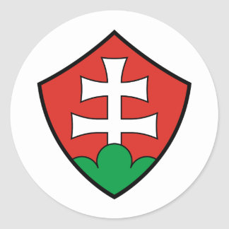 Coat of Arms of Hungary Classic Round Sticker
