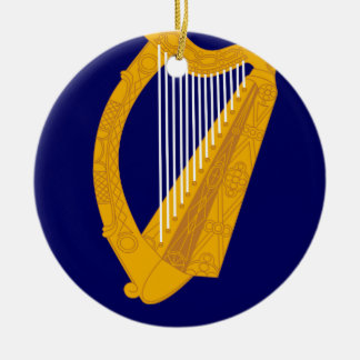 Coat of arms of Ireland - Irish Emblem Christmas Ornament