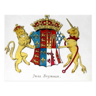 Coat of Arms of Jane Seymour Postcard