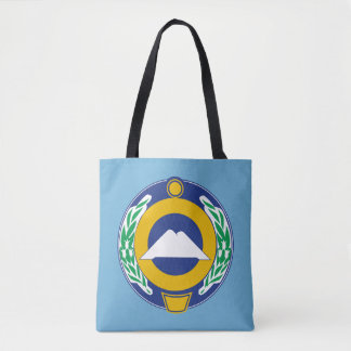 Coat of arms of Karachay-Cherkessia Tote Bag