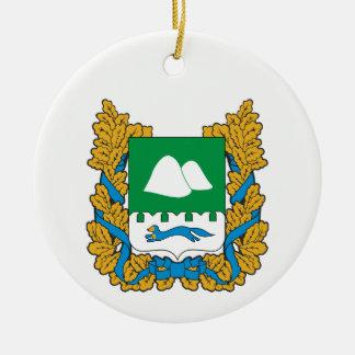 Coat of arms of Kurgan oblast Christmas Ornament