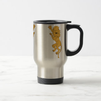 Coat_of_arms_of_Morocco_Supporters Stainless Steel Travel Mug