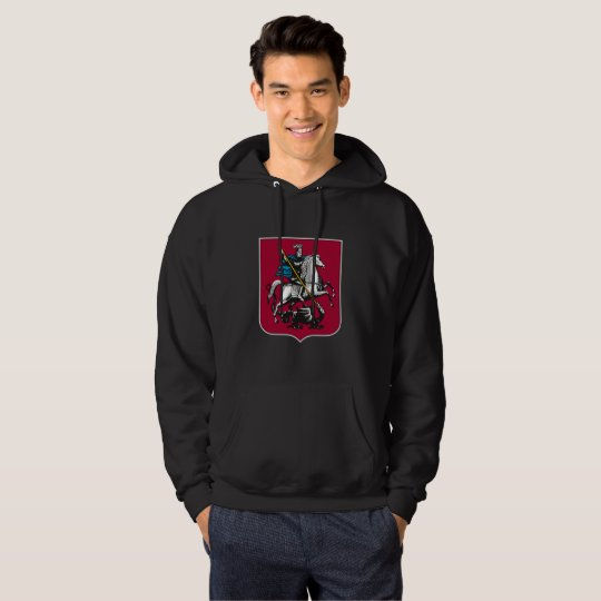Coat of arms of Moscow Hoodie