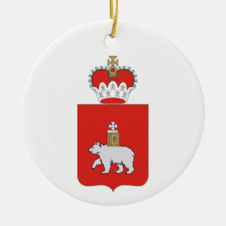 Coat of arms of Perm krai Christmas Ornament