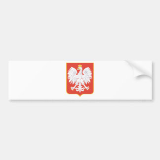 Coat_of_arms_of_Poland_(1927-1939) Bumper Sticker