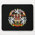 Coat of Arms of Prague Mouse Mat