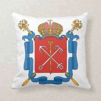 Coat of arms of Saint Petersburg Cushion