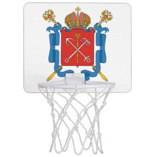 Coat of arms of Saint Petersburg Mini Basketball Hoop