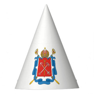 Coat of arms of Saint Petersburg Party Hat