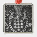 Coat of Arms of Simon de Lalaing Christmas Tree Ornament