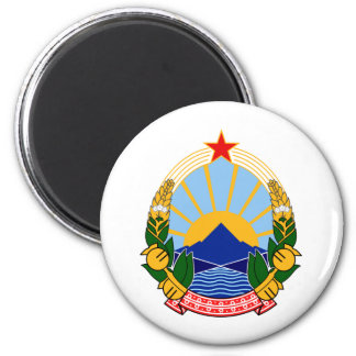 Coat of arms of SR Macedonia Magnet