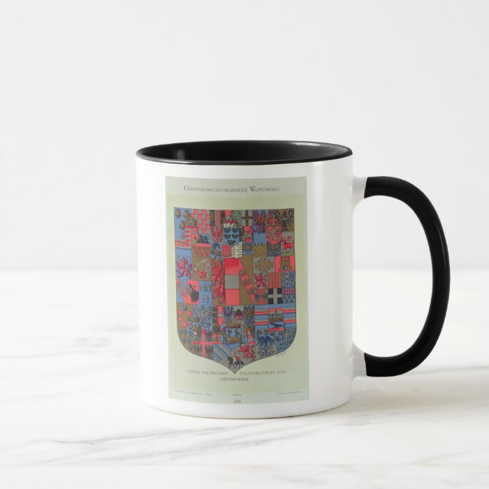 Coat of Arms of the Austro-Hungarian Empire Mug