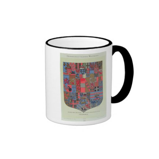 Coat of Arms of the Austro-Hungarian Empire Ringer Mug