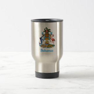Coat of arms of the Bahamas Travel Mug