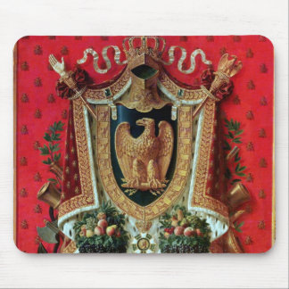 Coat of Arms of the French Empire Mouse Mat