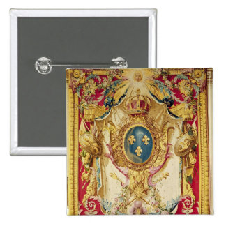 Coat of arms of the French Royal Family 15 Cm Square Badge