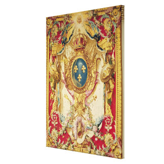 Coat of arms of the French Royal Family Canvas Print