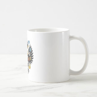 Coat of Arms of the Russian Empire Basic White Mug