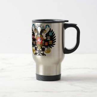 Coat of Arms of the Russian Empire Stainless Steel Travel Mug